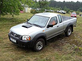 Nissan Pick-up NP300: první jízdní dojmy