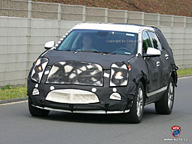 Spy Photos: Cadillac BRX - koncept Provoq jde do v�roby (nov� foto)
