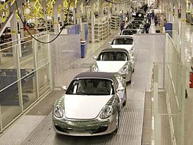 Porsche Boxster a Cayman se budou od roku 2012 vyrábět v Rakousku