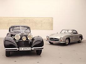 """Mercedes-Benz uspořádal výstavu """"Milníky automobilového designu"""" v Mnichově"""