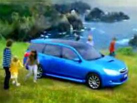 Video: Subaru Exiga – sedm míst pro rodinu