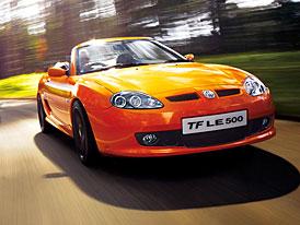 MG TF LE500: zveřejněna cena pro britský trh
