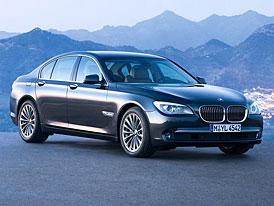 BMW řady 7: první fotografie páté generace