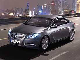 Opel Insignia: dvojitá premiéra v Londýně