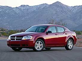 Dodge Avenger: levnější o desítky tisíc Kč, základ za 557.250,- Kč