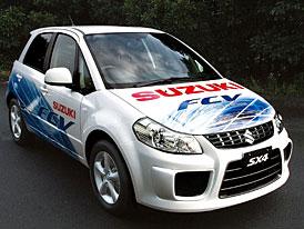Suzuki SX4-FCV: vodíkový crossover na summitu G8