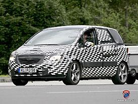 Spy Photos: Opel Meriva - nov� fotografie nov� generace