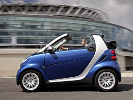 Smart ForTwo míří do Brazílie a do Číny