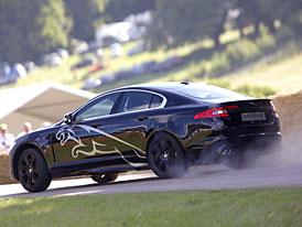 Jaguar XF-R se ukázal v Goodwoodu