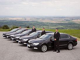 24h Superb Limousine Service: Slovenští VIP klienti Škodovky se mají nač těšit