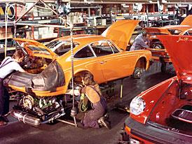 Porsche sídlí v Zuffenhausenu už 70 let