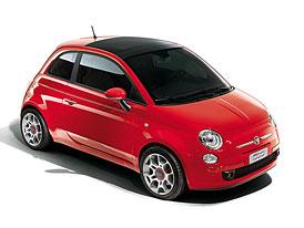 Fiat vyrobí dvě stovky červených pětistovek pro síť Ferrari