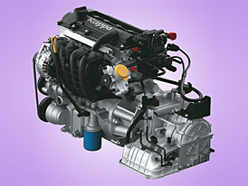 Nový motor Hyundai kappa 1,25 16V (57 kW) pro i10 a i20