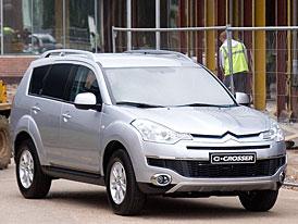 Citroën C-Crosser Commercial: i SUV se může změnit v dodávku