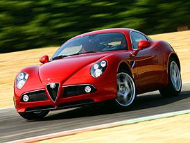 Alfa Romeo 8C Competizione GTA – premiéra v červnu 2010