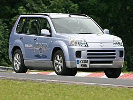 Nissan X-Trail FCV: neobvyklý rekord na Nürburgringu