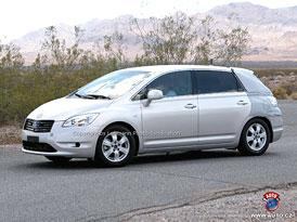 Spy Photos: Toyota Mark X ZiO - Následník vodíkové Hondy FCX?