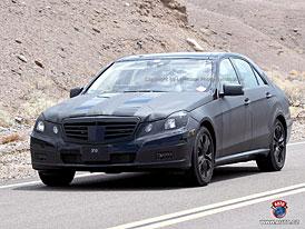 Spy Photos: Nový Mercedes-Benz třídy E (nové snímky)