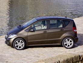 Mercedes-Benz třída A (2009) na českém trhu: Základ za 420 tisíc Kč, BlueEfficiency bez příplatku