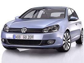 Volkswagen Golf VI: První fotografie