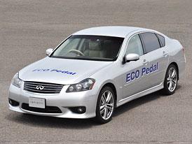 Nissan Eco Pedal umožní snížit spotřebu o 5 až 10 %