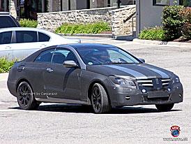 Spy Photos: Mercedes-Benz CLK - proti A5 a trojkovým kupé