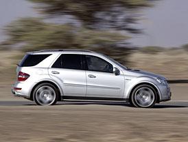 Mercedes-Benz ML (2009) na českém trhu: 200 kW za 1,313 milionu Kč