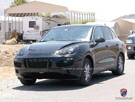 Spy Photos: Druhá generace Porsche Cayenne - nové fotografie