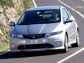 Český trh v červenci 2008: Honda Civic v první desítce nižší střední
