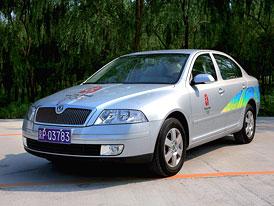 Škoda: 650 Octavií vozí sportovce a hosty na olympiádě v Pekingu
