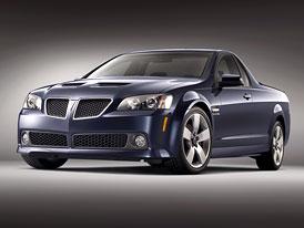 Pontiac G8 ST: americký pick-up dostal vlastní jméno