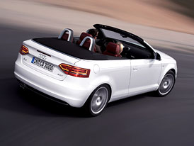 Audi A3 Cabriolet: Základní motor 1,6 (75 kW) na českém trhu