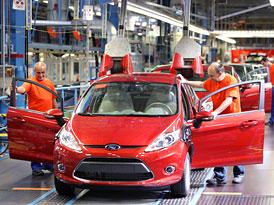 Ford Fiesta: zahájení výroby v Německu