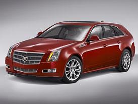 Cadillac CTS Sport Wagon: představuje se praktický elegán