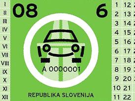 Evropská komise prověří půlroční dálniční známky ve Slovinsku