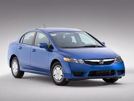 Honda Civic: facelift pro sedan a Hybrid