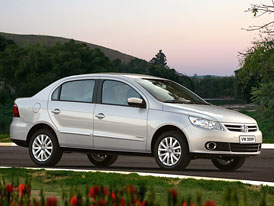 Volkswagen Gol Sedan: Prvn� fotografie