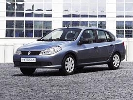 Renault Thalia: S v�no�n� slevou u� za 174.900,- K�, turbodiesel za 239.900,-K�
