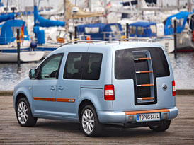 Volkswagen Caddy Topos Sail: koncept dodávky se stylem jachty