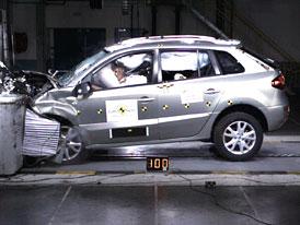 Euro NCAP: Renault Koleos � francouzsko-korejsk� SUV m� p�t hv�zd