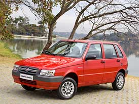 Fiat Mille Economy: Uno žije. V Brazílii.