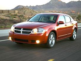 Chrysler Sebring i Dodge Avenger 2.0 CRD (103 kW) již za 499.000,-Kč