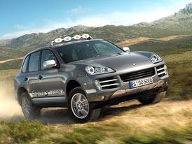 Porsche Cayenne S Transsyberia: oslava závodních úspěchů