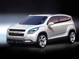 Chevrolet Orlando: Nový crossover v Paříži zatím jako studie