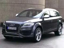Video: Audi Q7 V12 TDI – sériová verze na projížďce