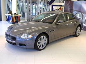 Maserati má v Praze nový showroom