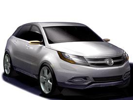 SsangYong C200: koncept kompaktního SUV
