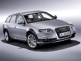 Český trh v srpnu 2008: Audi Allroad quattro ovládlo vyšší střední třídu