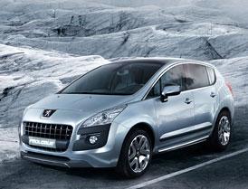 Peugeot Prologue: koncept kompaktn�ho hybridn�ho crossoveru