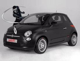 """Fiat 500 Diabolika: Komiksová verze """"Pětistovky"""""""